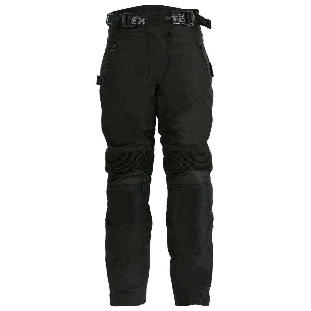 Basics Texpeed Pantalon de Moto impermé able avec Protection CE en Cordura pour Femme