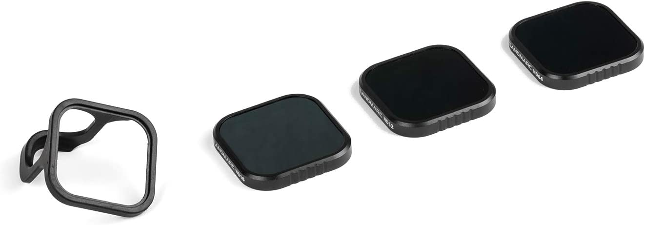 ND32 /& ND64 ND16 SANDMARC Cinema ND Filters for GoPro Hero 8