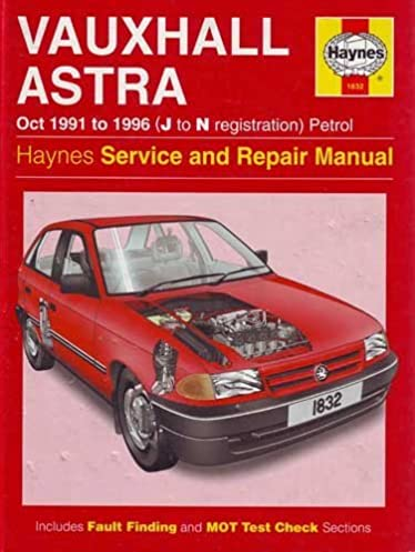 buy vauxhall astra 91 96 petrol service and repair manual rh amazon in Haynes Manuals UK Haynes Manuals UK