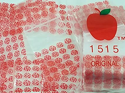 Amazon.com: 1515 Rojo Dados 2.5 mil bolsa mini de Apple ...