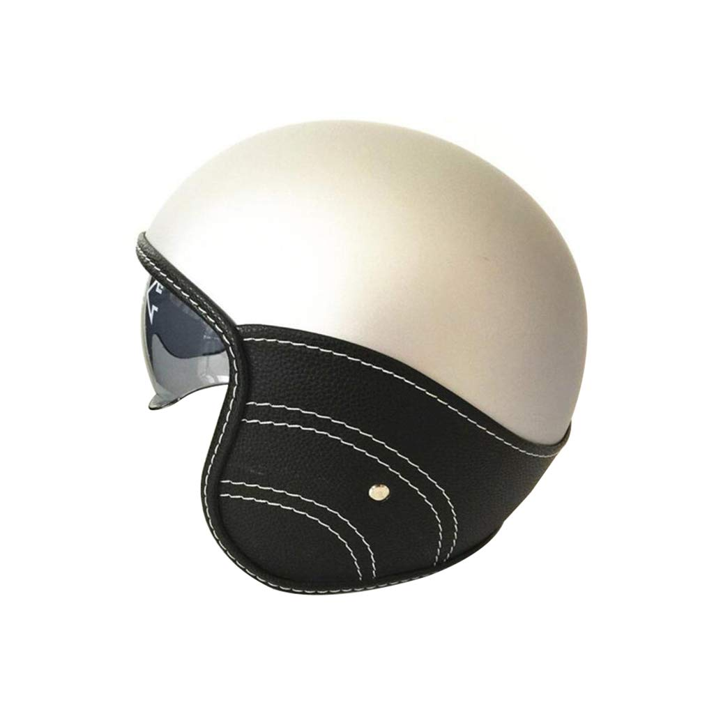 【着後レビューで 送料無料】 オートバイヘルメット s、レトロオートサイクルヘルメット男性女性オールラウンドサイクリングヘルメットモト電気自動車ハーフヘルメットドット標準 B07NJSSP1P S B07NJSSP1P s, クスバシハクイ:f2c818bf --- a0267596.xsph.ru