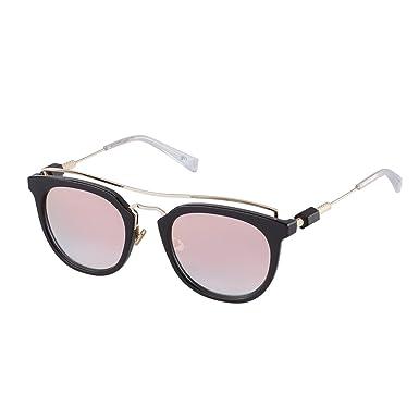 6da5b2c8678e7 Amazon.com  PERVERSE sunglasses Lynna Clubmaster Sunglasses (Black ...