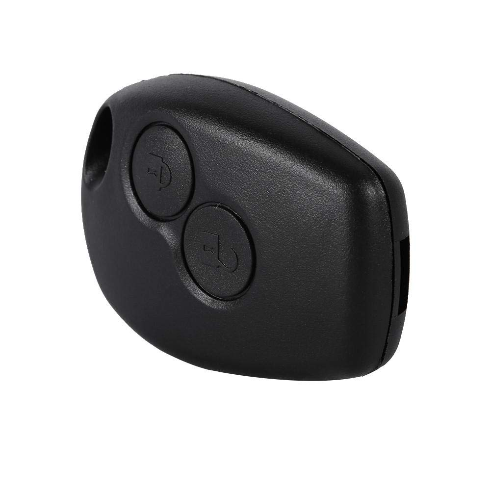 Qiilu QL00304 Remote 2 Tasti Caso della Copertura della Cassa del Fob dellAuto Chiave per Renault Kangoo Modus Master