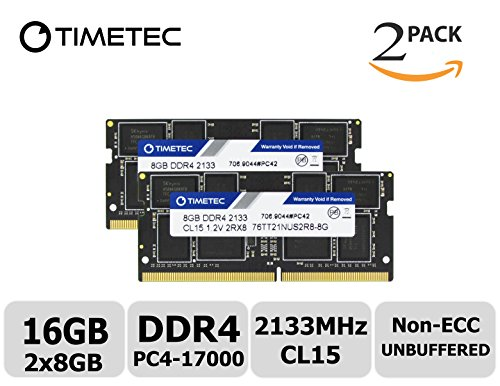 Timetec Hynix IC 16GB KIT  DDR4 2133MHz PC4-17000 Non ECC Un