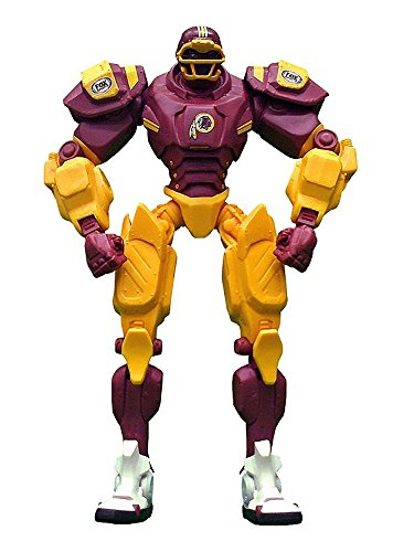 "Washington Redskins 10"" Team Cleatus FOX Robot NFL Football Action Figure Version 2.0"