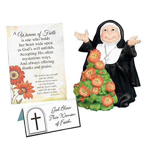Abbey Press Woman of Faith Figurine (Best Gift For Nuns)