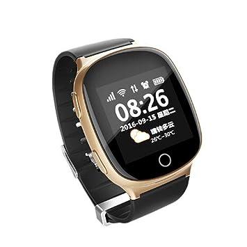 Montre Traceur GPS Connectée Senior Cardiofréquencemètre Écran ...