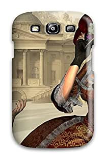 Durable Defender Case For Galaxy S3 Tpu Cover(women Fantasy Abstract Fantasy)