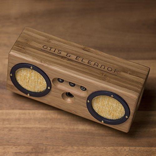 Bongo Bamboo Retro Bluetooth Speakers - Portable Wireless