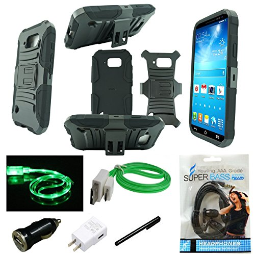 Galaxy Note 5 Case, Samsung Galaxy Note 5 Case, Mstechcorp Heavy Duty Hybrid Armor Dual Layer Kickstand Belt Clip Holster Case Life Time Warranty - Includes Accessories (Holster - Duty Free Sydney