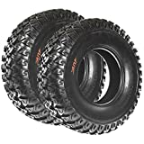 SunF All Terrain Radial ATV UTV Tires 30x10R14 30x10x14 8 PR A045 (Set pair of 2)