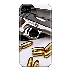 Defender Case With Nice Appearance (69 Pistol) For Iphone 4/4s