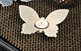 Candleholders White Butterfly Tealight Candle Holder Fun Centerpiece for Tabletop Accent New