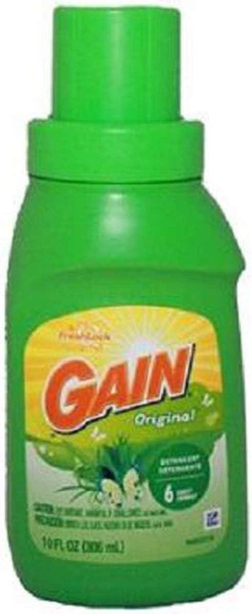 Gain Travel Size Liquid Laundry Detergent Original - 10 oz
