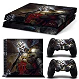 Vinyl Decal Protective Skin Cover Sticker for Sony PS4 Console And 2 Dualshock Controllers #15
