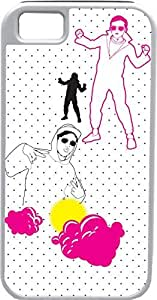 iPhone 4 4S Cases Customized Gifts Cover Artistic rappers - polka dotted background Case for iPhone 4 4S