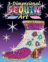 3D Shoe Sparkling Arts & Craft Kit