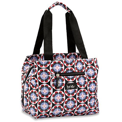 nicole-miller-of-new-york-insulated-lunch-cooler-summer-2015-colors-11-lunch-tote-circle-flower-blac