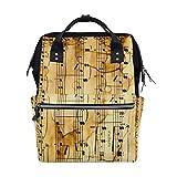 Backpack Classical Music Mens Laptop Backpacks Shoulder Hiking Daypack