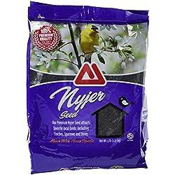 TMF 100% Premium Quality Nyjer Bird Seed , 5 lb