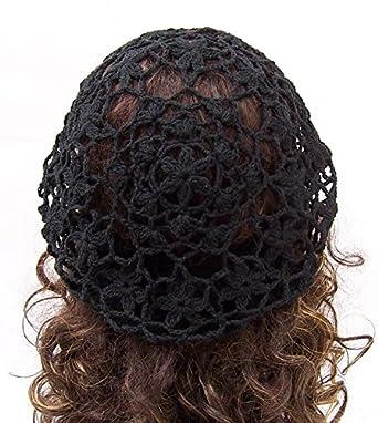 3d7a04063c945 bestknit Mujer Luz Boina Punto Crochet Estilo para Primavera Verano y otoño  Blanco blanco Talla única  Amazon.es  Ropa y accesorios