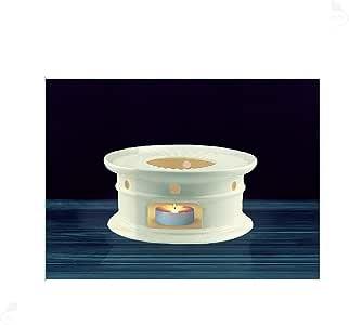 Sun's Tea (Tm) Super White Ceramic Teapot Warmer (White)
