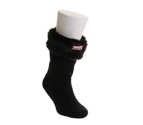 Hunter Short Botas de Calcetines, Color Negro, Talla Large