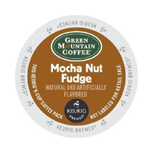 Products Fudge - Keurig, Green Mountain, Mocha Nut Fudge, K-Cup packs, 48-Count
