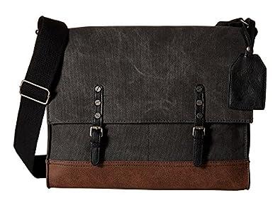 Carlos by Carlos Santana Bags Messenger Charcoal - Messenger Bags