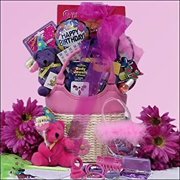 Happy Birthday Fashion Fun Tween Girl Gift Basket Ages 8 13