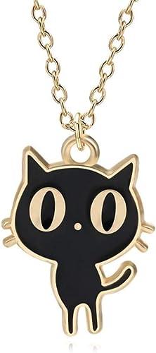 Kawaii Cats Faux Druzy Necklace