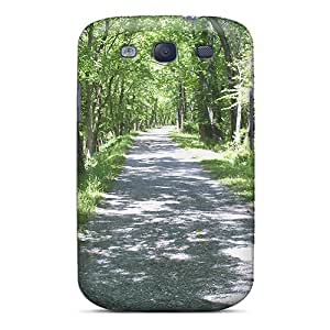 Galaxy High Quality Tpu Case/ Road Leading To The Paw Paw Tunnel In Wv HwTqX3152amSVV Case Cover For Galaxy S3