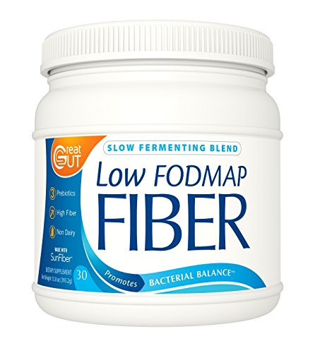 Low FODMAP Fiber by Great Gut - Balance Your Biome, Boost Digestive Health and Fight Bloating - Guaranteed to Work Or Your Money Back - 13.8oz (393g)