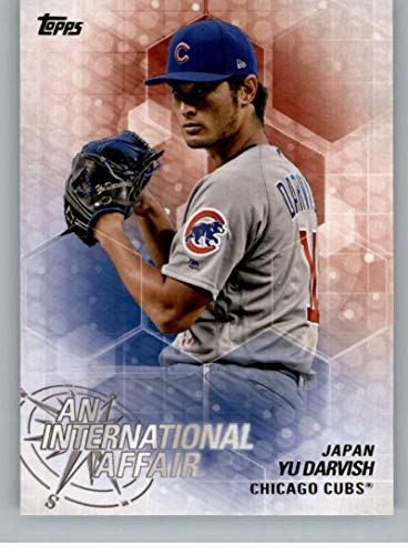 2018 Topps Update and Highlights Baseball Series An International Affair #IA-25 Yu Darvish Chicago Cubs Official MLB Trading Card