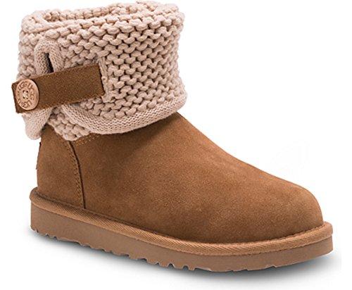 UGG New Australia Darrah Chestnut 5 Youths Boots (Usa Australia Ugg)