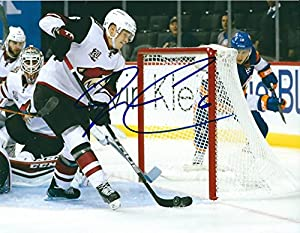 Signed Jakob Chychrun 8x10 Photo Arizona Coyotes - Certified Autograph