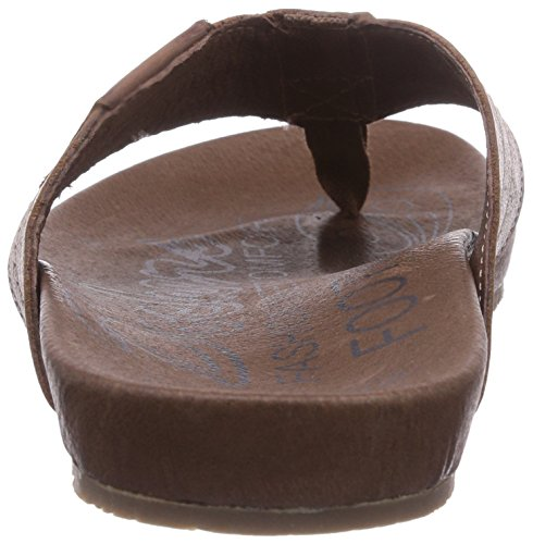 Dockers by Gerli 36BR00 - zuecos de cuero unisex marrón - Braun (reh 410)