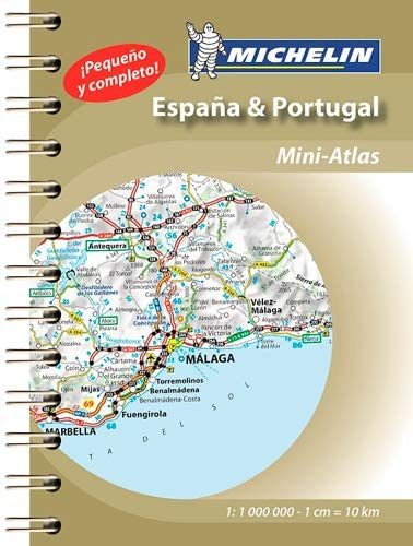 España & Portugal (Mini Atlas) (Atlas de carreteras Michelin): MICHELIN: Amazon.es: Belleza