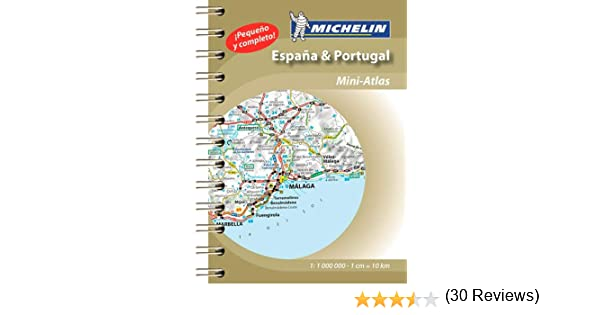 España & Portugal (Mini Atlas) (Atlas de carreteras Michelin ...