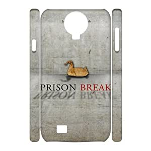 Customised 3D SamSung Galaxy S4 I9500 Case, Prison Break quote personalised Phone Case