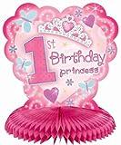 1st Birthday Princess Honeycomb Centerpiece