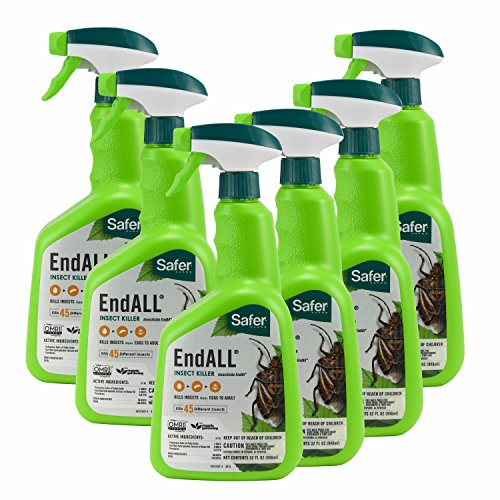 Safer Brand End All 32 oz RTU Spray - 6 pack (Rtu Insect Spray)