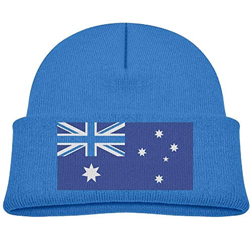 - hinghwe Australia Flag Baby Boy Winter Warm Hat, Lovely Knit Beanies Cotton Cap for Girls and Boys RoyalBlue