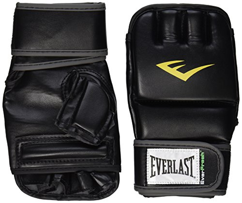 (Everlast Train Advanced Wristwrap Heavy Bag Gloves (Large/X-Large))