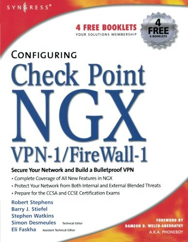 By Robert Stephens Configuring Check Point NGX VPN-1/Firewall-1 (1st First Edition) ()