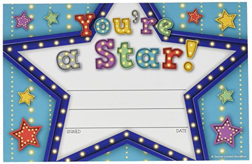 Teacher Created Resources (5485) Marquee You're a Star Awards]()