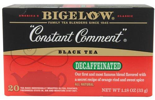 Bigelow Tea Constant Comment Black Tea Decaffeinated -- 20 Tea Bags
