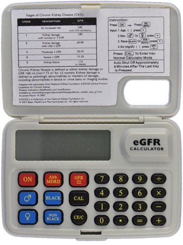 eGFR (Glomerular Filtration Rate) Calculator