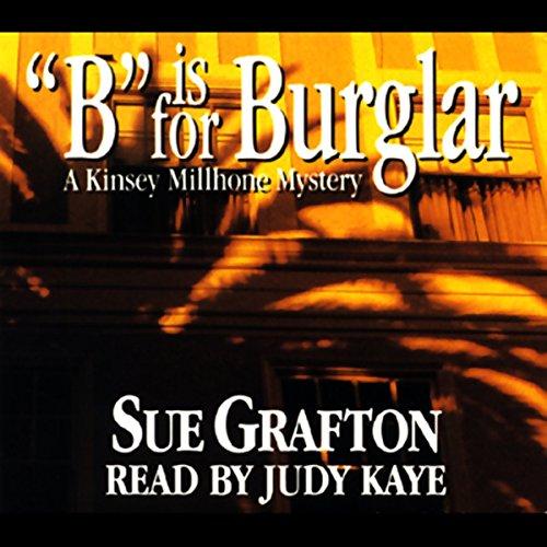 Bargain Audio Book - B is for Burglar