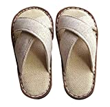 Cattior Toddler Summer Cute Boys Slippers House Shoes Open Toe (11 M Little Kid, Gray)